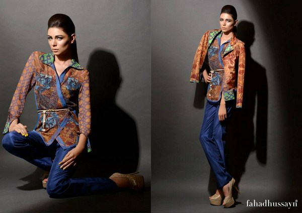 Fahad Hussayn Couture King Shadows Collection 2013 For Women 003