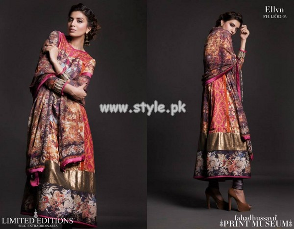 Fahad Hussayn Print Museum Limited Edition 2013 For Women 007