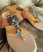 Farah & Fatima Fall Footwear Collection 2013 Volume 2 For Women 007