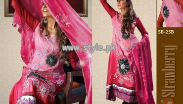 Feel Strawberry Chiffon Collection 2013 For Women 012