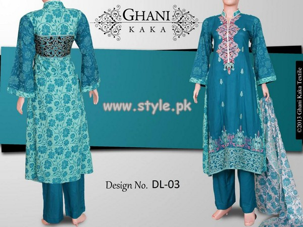 Ghani Textile Autumn Collection 2013 For Girls 002