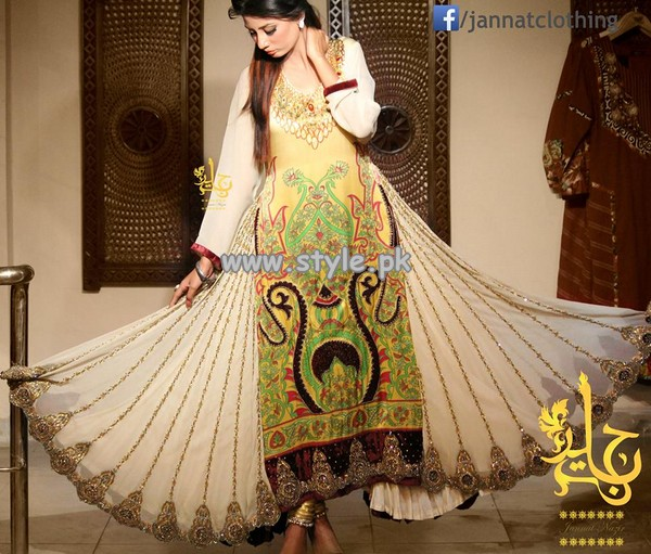 Jannat Nazir Formal Wear Collection 2013 For Fall 007