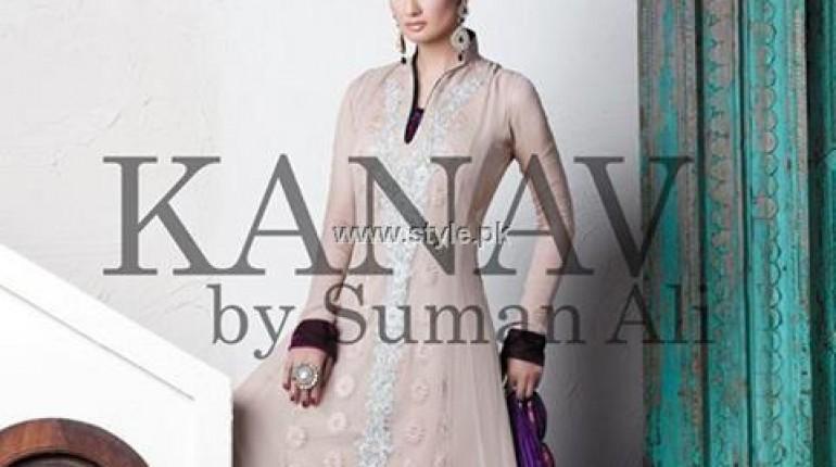 Kanav by Suman Ali Formal Wear Dresses 2013 for Women
