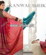 Kanwal Sheikh Party Wear Collection 2013 For Women 006
