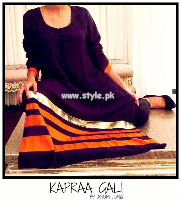 Kapraa Gali Eid Collection 2013 By Anum Jung