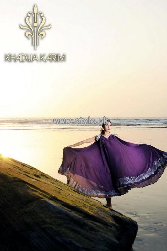 Khadija Karim Party Dresses 2013 For Women 007
