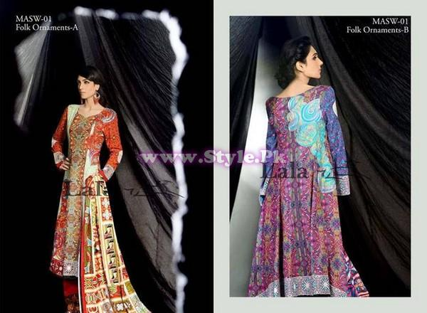 Mashaal Winter Collection 2013 by Lala
