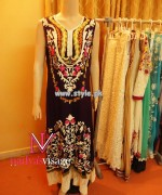 Nadya Visage Party Wear Dresses 2013 For Girls 003