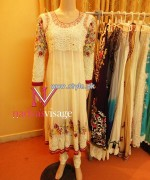 Nadya Visage Party Wear Dresses 2013 For Girls 004