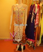 Nadya Visage Party Wear Dresses 2013 For Women 005