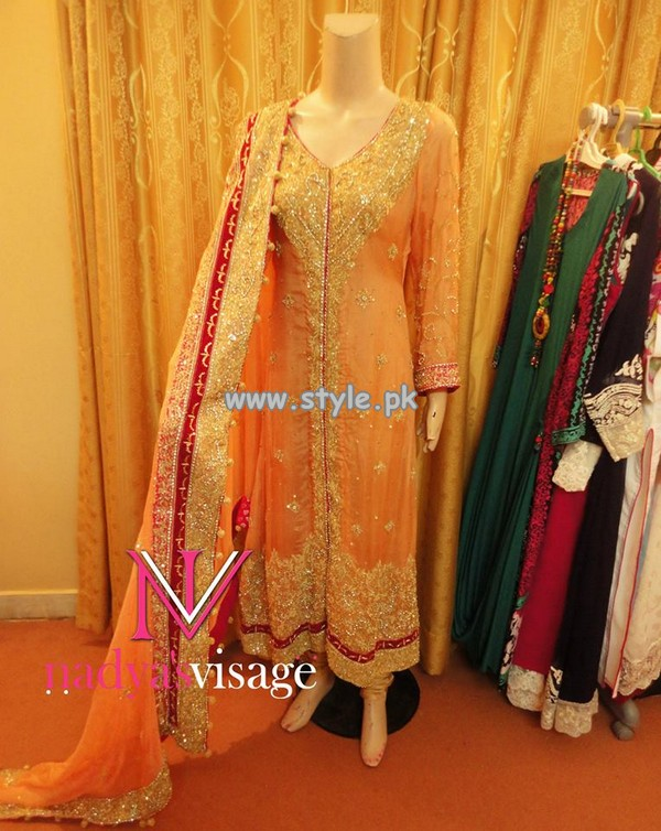 Nadya Visage Party Wear Dresses 2013 For Women 007