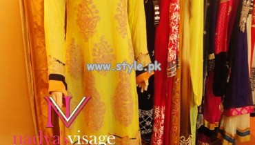 Nadya Visage Party Wear Dresses 2013 For Women 008