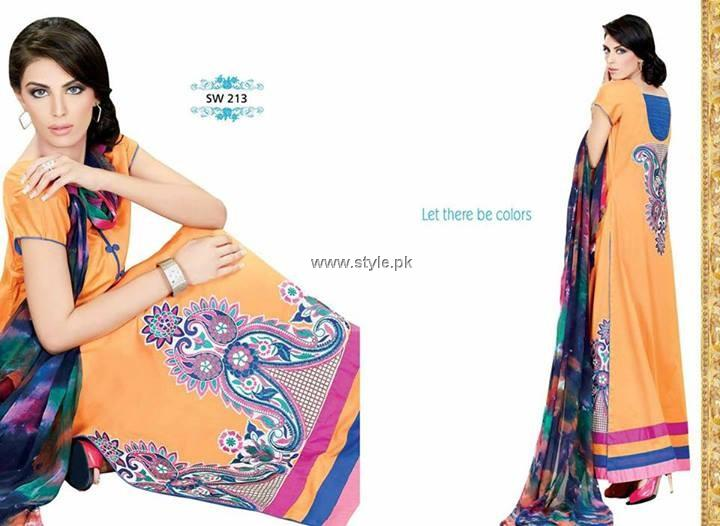 Nation by Riaz Arts Fabric Collection 2013 for Women