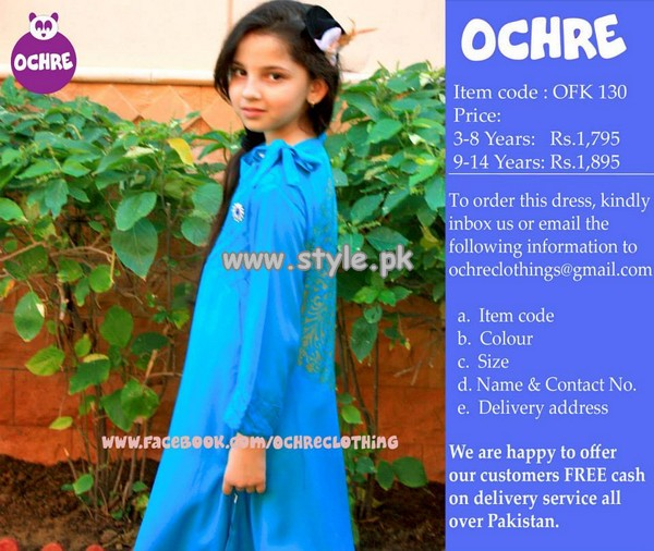 Ochre Clothing Fall Collection 2013 For Little Girls 007