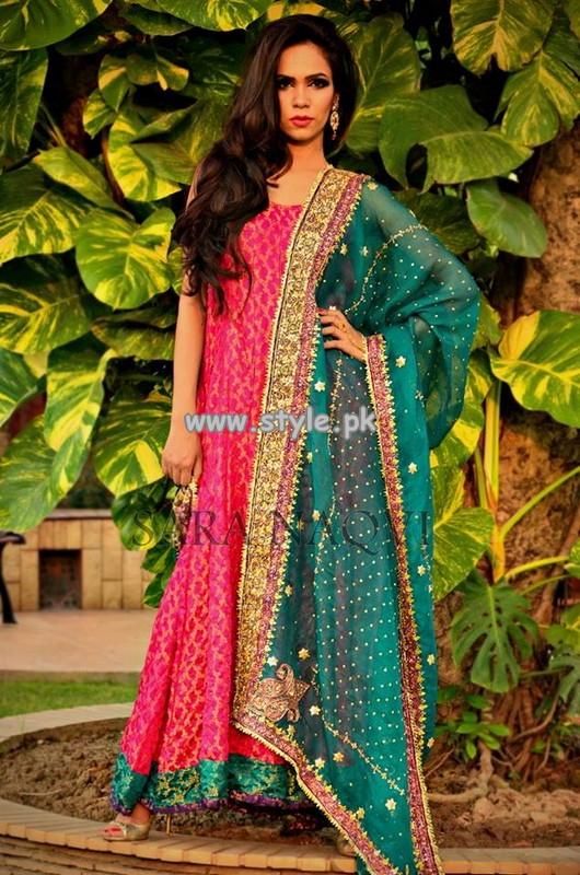 Sara Naqvi Rangoli Collection 2013 For Fall 004