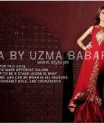 Umsha by Uzma Babar Eid-ul-Azha Collection 2013 for Women 007