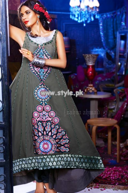 Zahra Ahmad Latest Anarakli Collection 2013 For Girls 007