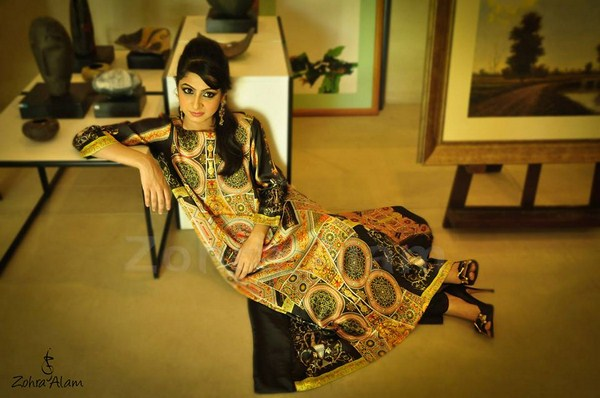 Zohra Alam Casual Wear Collection 2013 For Women 005