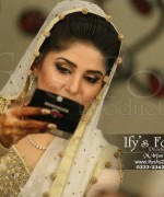 Actres Sanam Baloch Nikkah Pictures - White Dress 012 672x448
