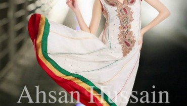Ahsan Hussain Formal Dresses 2013 For Women 006