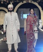Ali Xeeshan Collection at PFDC L'Oreal Paris Bridal Week 2013 003 150x180 pakistani dresses fashion shows