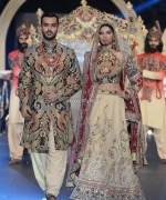 Ali Xeeshan Collection at PFDC L'Oreal Paris Bridal Week 2013 014 150x180 pakistani dresses fashion shows