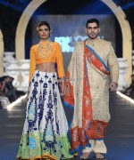 Ali Xeeshan Collection at PFDC L'Oreal Paris Bridal Week 2013 015 150x180 pakistani dresses fashion shows