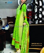 Aroshi Winter Dresses 2013 For Girls1