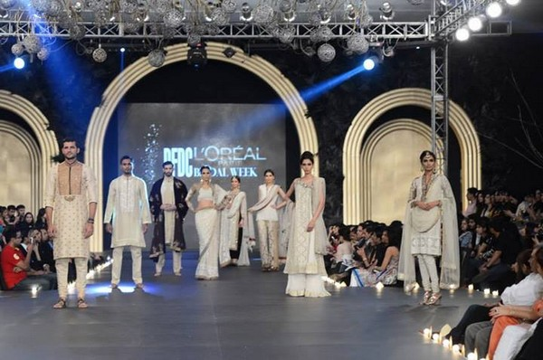 Asifa & Nabeel Bridal Dresses at PFDC L'Oreal Paris Bridal Week 2013