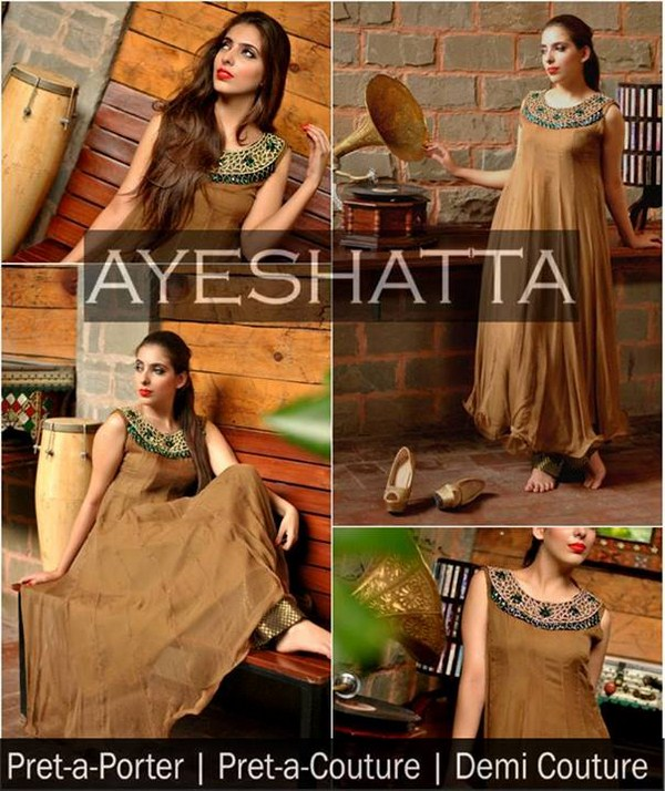 Ayeshatta Party Dresses 2013 For Women
