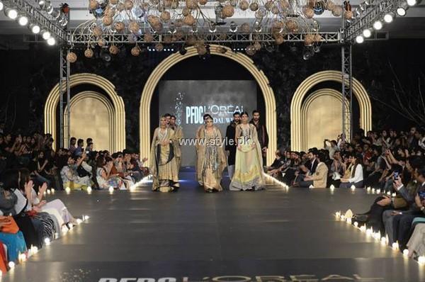 Fahad Hussayn Dresses at PFDC L'Oreal Paris Bridal Week 2013