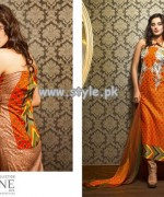 Feminine Mid Summer Collection 2013 by Shariq Textiles 001