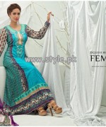 Feminine Mid Summer Collection 2013 by Shariq Textiles 003