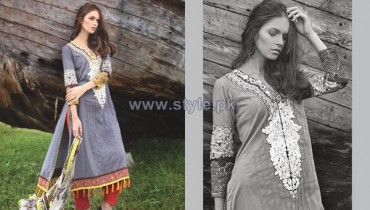 Firdous Fashion Fall Winter Dresses 2013 For Women8