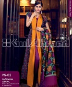 Gul Ahmed Pashmina Shawl Collection 2013 For Women 001