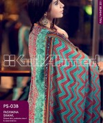 Gul Ahmed Pashmina Shawl Collection 2013 For Women 005