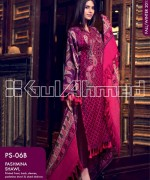 Gul Ahmed Pashmina Shawl Collection 2013 For Women 007