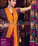 Gul Ahmed Pashmina Shawl Collection 2013 For Women 012
