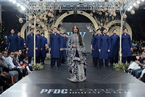 HSY Dresses at PFDC L'Oreal Paris Bridal Week 2013