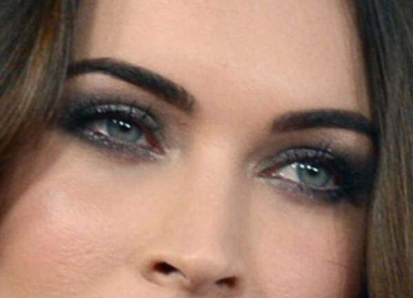 Megan Fox Eye Makeup - Closer Look