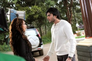 Imran Abbas On the Set Of Creature 06