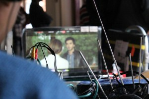Imran Abbas On the Set Of Creature 10