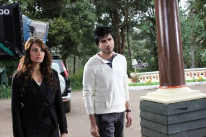 Imran Abbas On the Set Of Creature 16