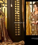 Khaddar Dresses 2013 by Shariq Textiles for Women 010