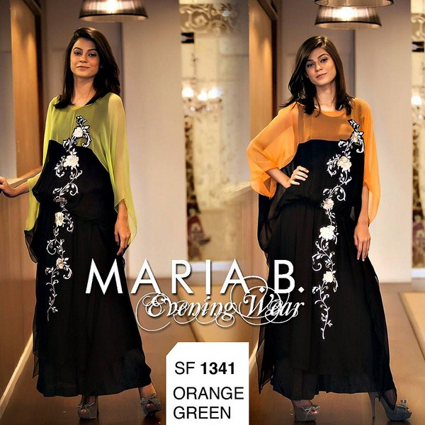 Maria B Evening Wear Collection 2013 For Women 004