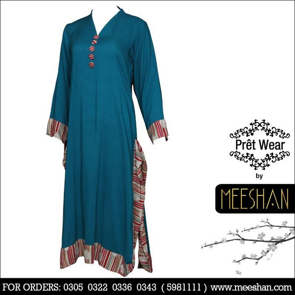 Meeshan Winter Dresses 2013 For Women 0013