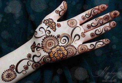 Mehndi Designs for Eid ul Azha 2013 for Women