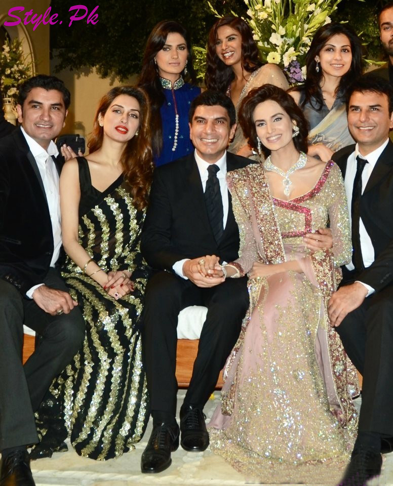 Mehreen Syed Wedding Pictures and Wedding Dresses