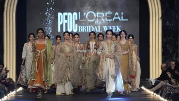 Misha Lakhani Bridal Dresses 2013 at PFDC L'Oreal Paris Bridal Week