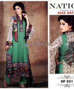 Nation by Riaz Arts Winter Designs 2013 For Girls1